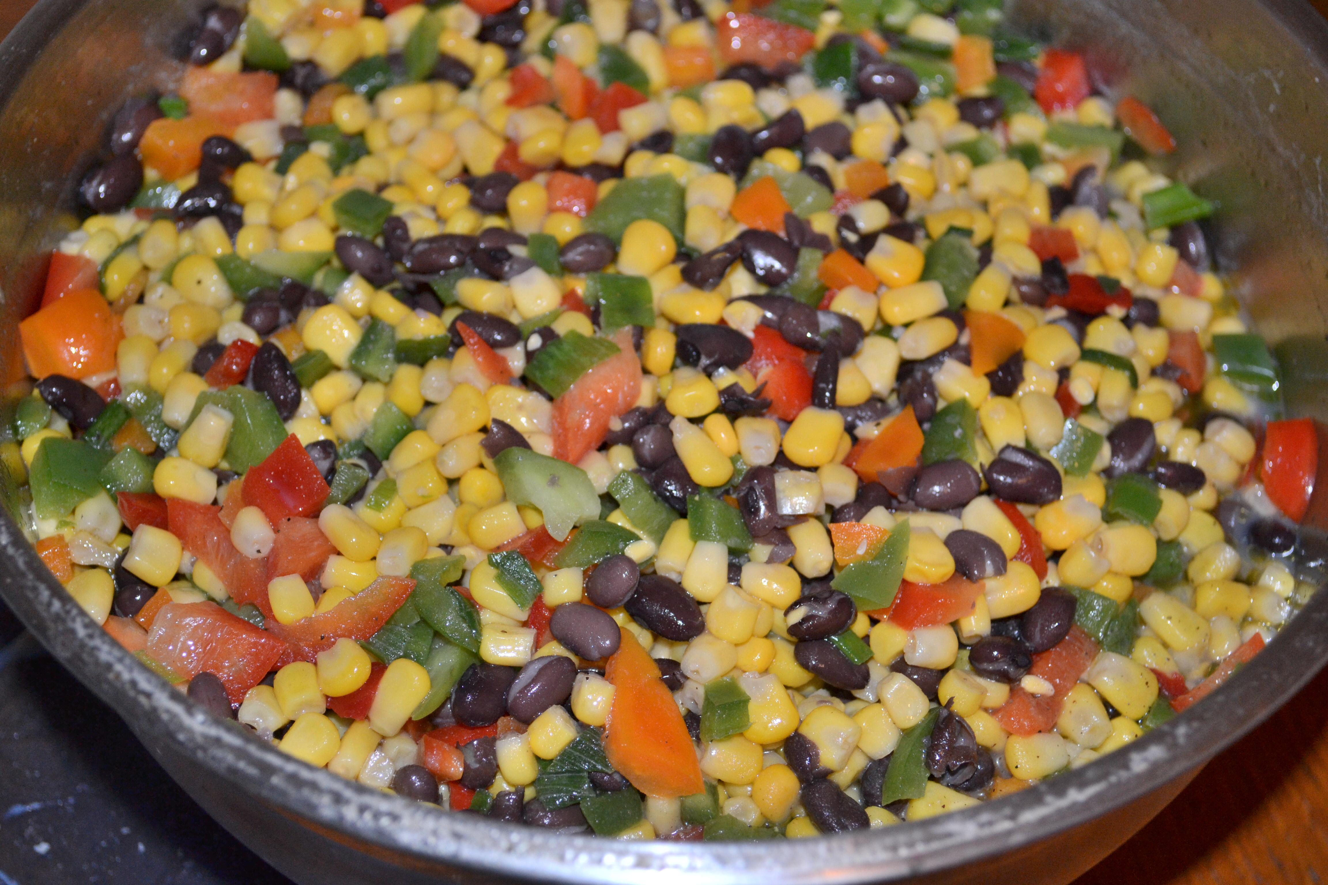 7 Layer Taco Bean Dip Recipe — Dishmaps